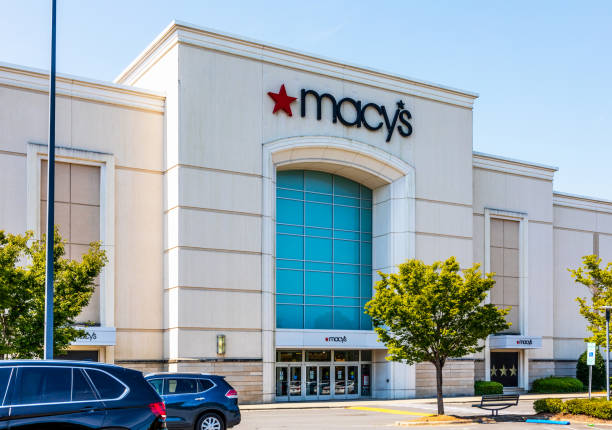 Macy's at Southpark stock photo