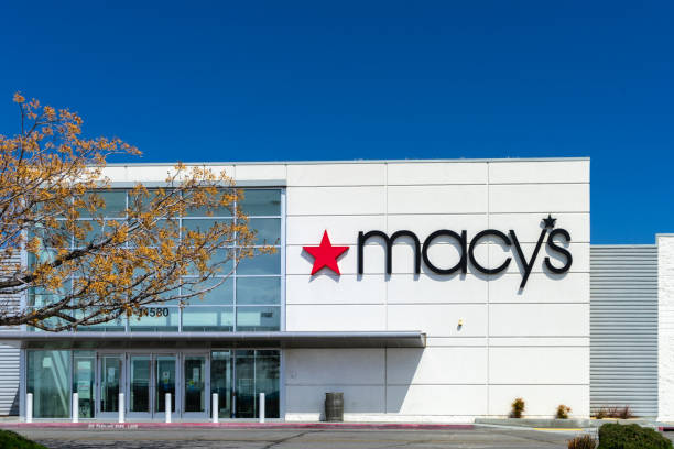 Macy's at the Mall of Victor Valley in Victorville, CA stock photo