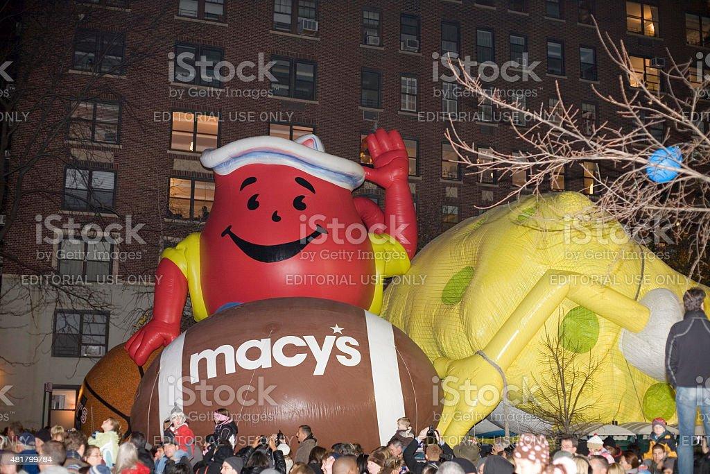 Inflação da Macy's de balão - foto de acervo
