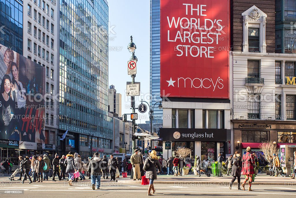 Macy's Herald Square, NYC stock photo