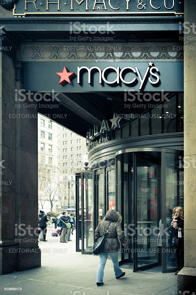 Macy's Herald Square stock photo