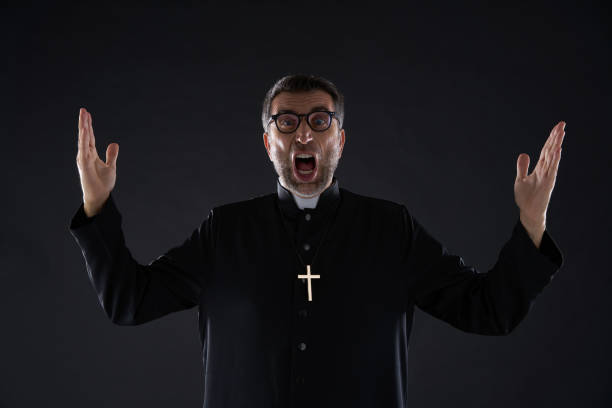 Image result for clergy crazy stock photo
