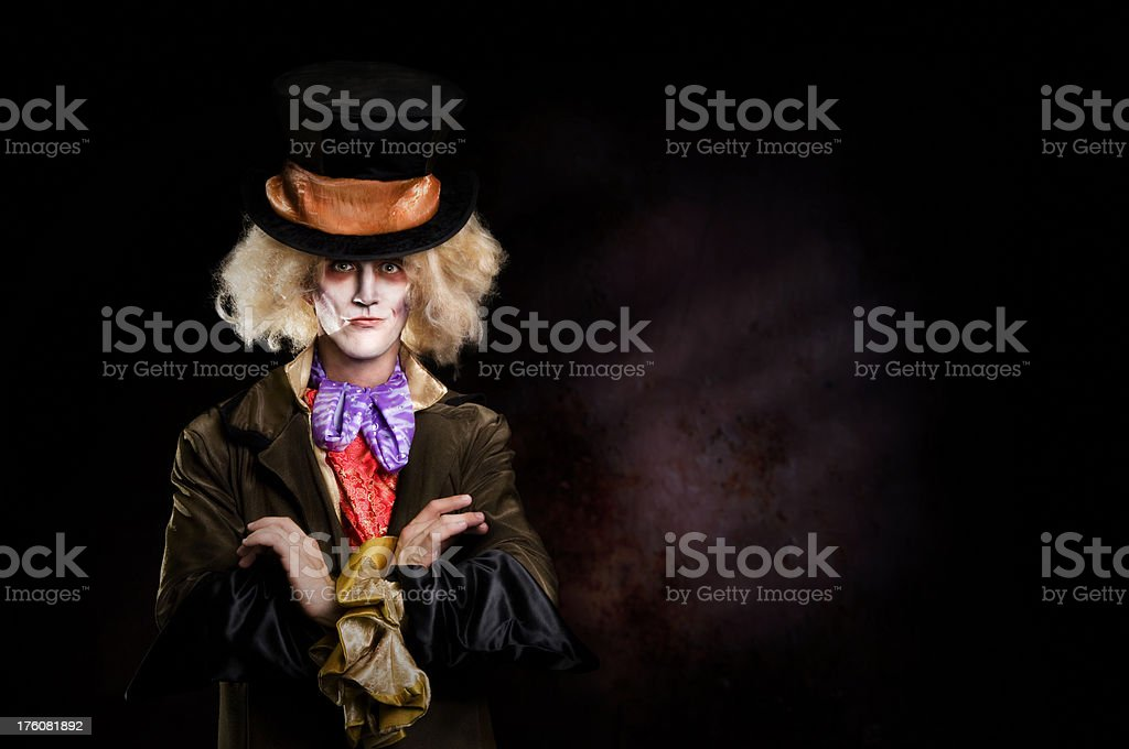 Mad Hatter royalty-free stock photo