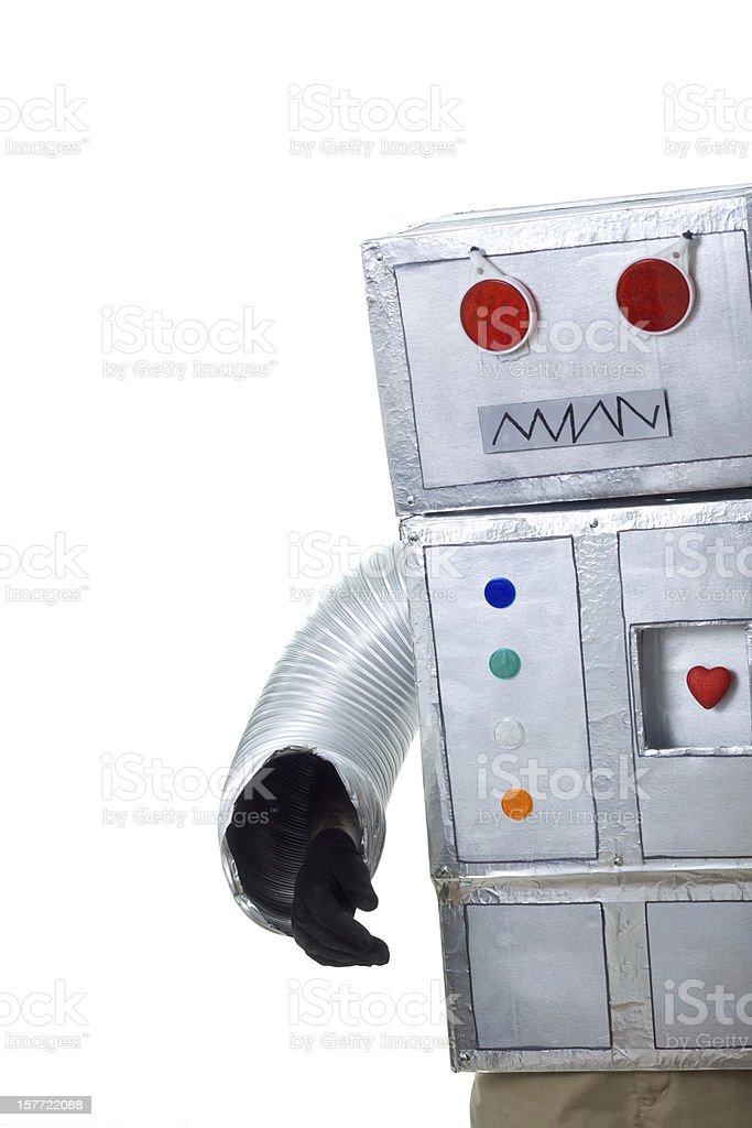 mad robot stock photo