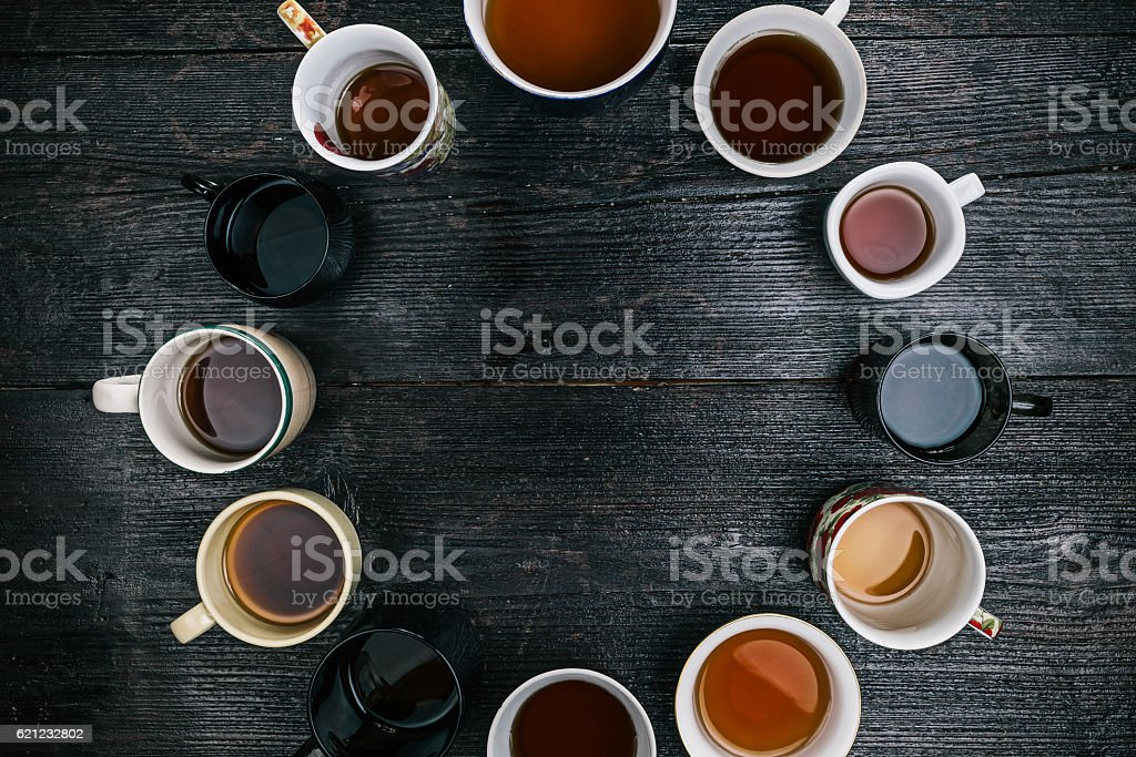 Mad tea party stock photo