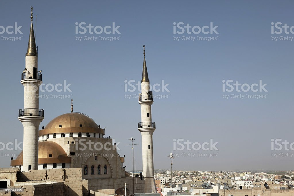 Madaba in Jordan stock photo