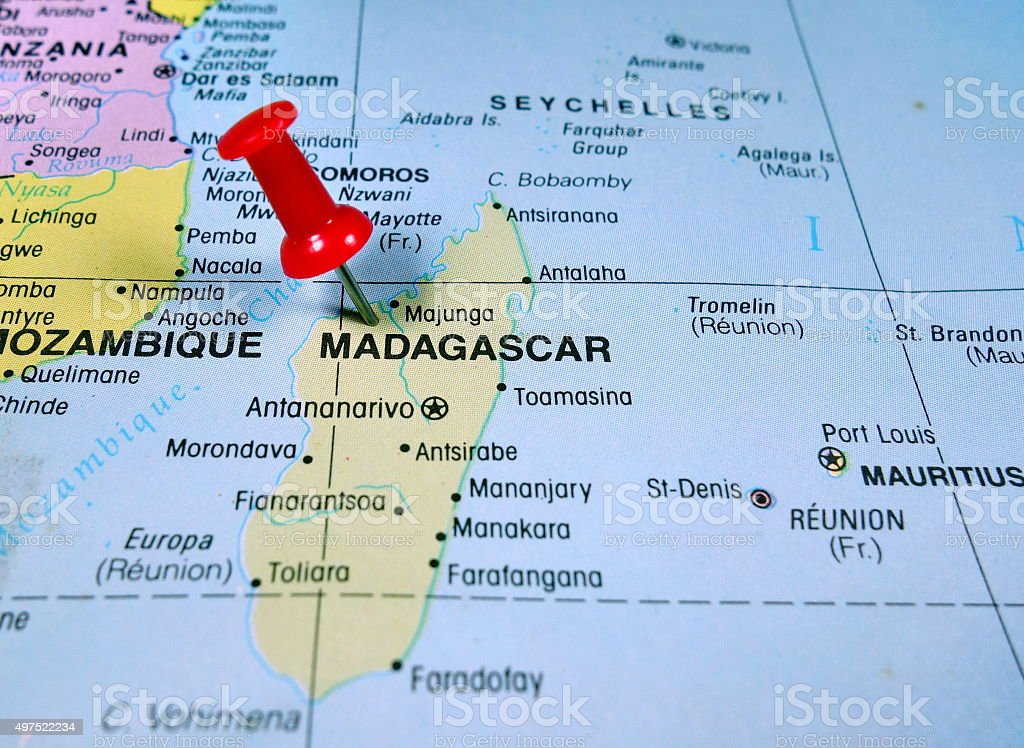 Madagascar Map Stock Photo More Pictures of 2015 iStock