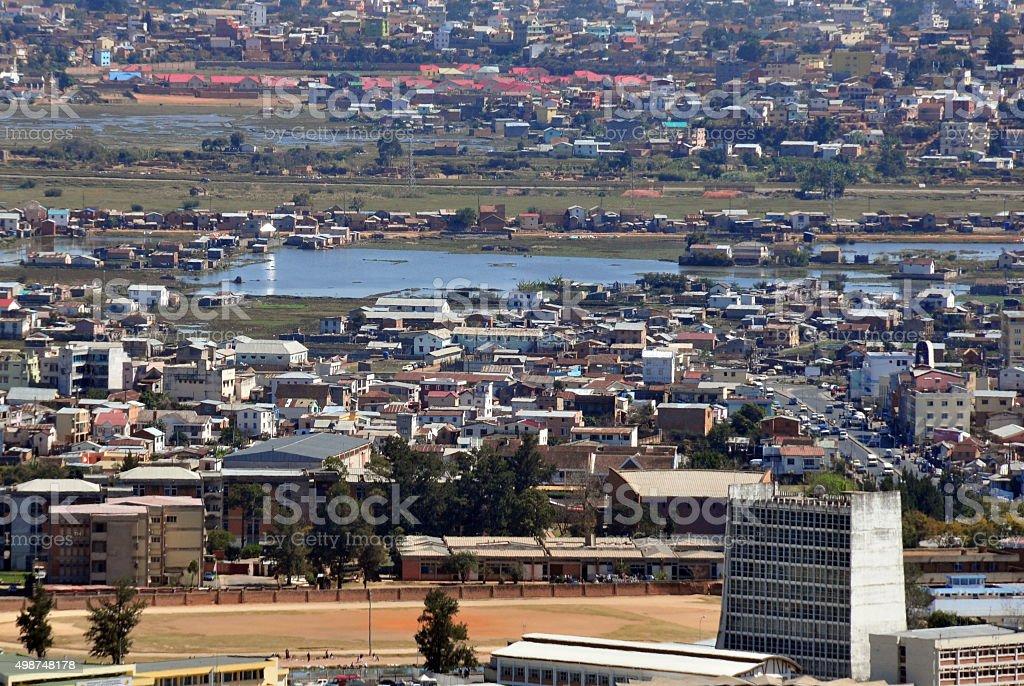 Madagascar Ministry of Interior stock photo