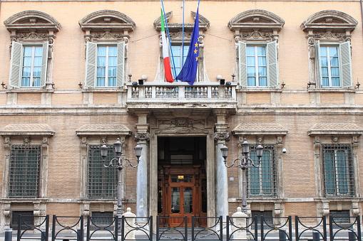 Madama Palace, houses of the Senate of the Italian Republic