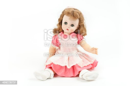 Phoenix, United States - July 6, 2011:  Studio shot of a Madame Alexander doll named