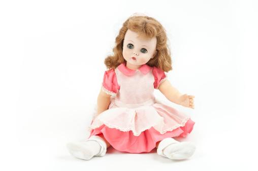 Phoenix, United States - July 6, 2011:  Studio shot of a Madame Alexander doll named