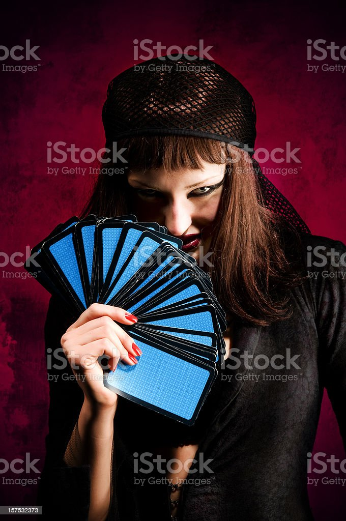 Madame Noir royalty-free stock photo