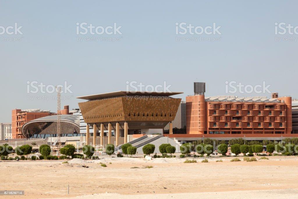 Madar Institute in Abu Dhabi, UAE - Foto de stock de Abu Dhabi libre de derechos