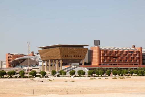 Madar Institute In Abu Dhabi Uae Foto de stock y más banco de imágenes de Abu Dhabi