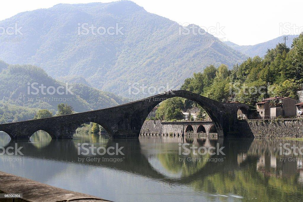 Maddalena Bridge royalty-free stock photo