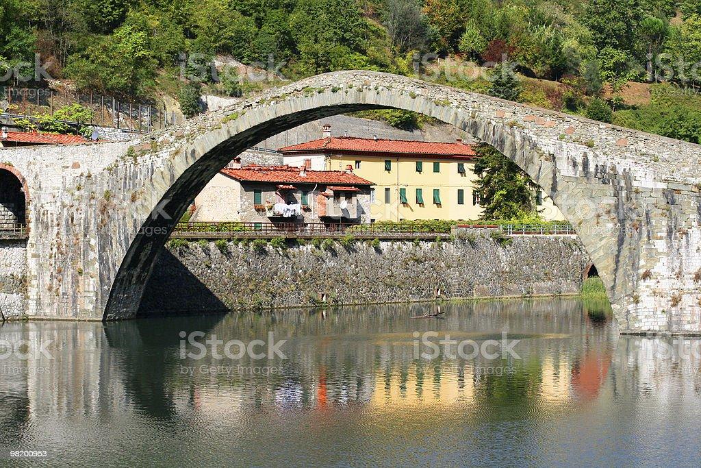 Ponte della Maddalena foto stock royalty-free
