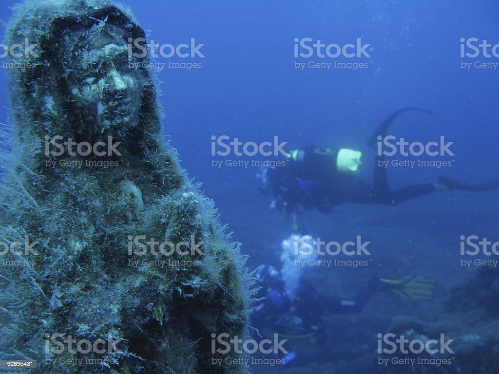 Maddalena of the abyss royalty-free stock photo