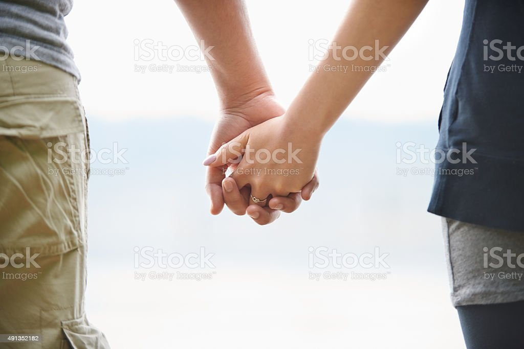 Made for each other stock photo
