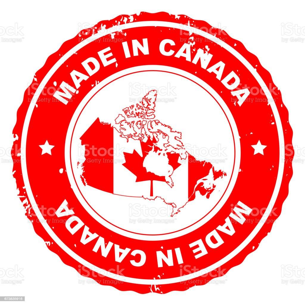 Made in Canada photo libre de droits