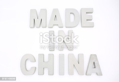 made in china block