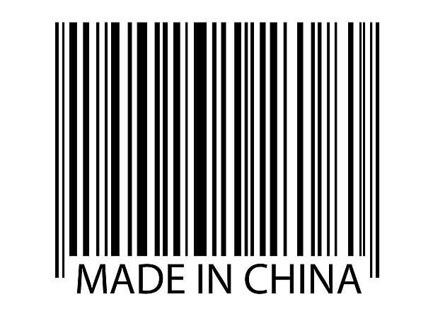 made in china - chinesische zeichen tattoos stock-fotos und bilder
