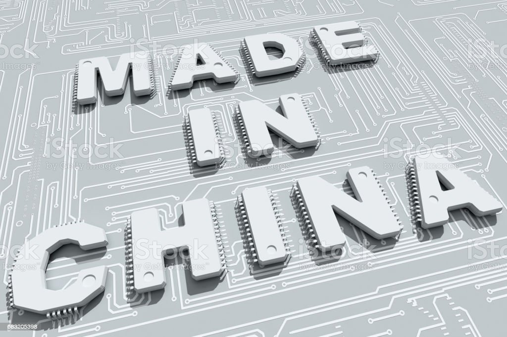 Made in China foto de stock royalty-free