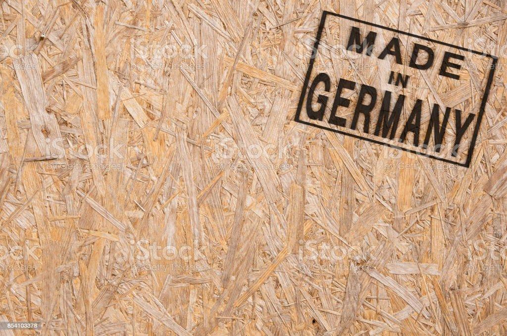 Hergestellt in Deutschland Ecke – Foto