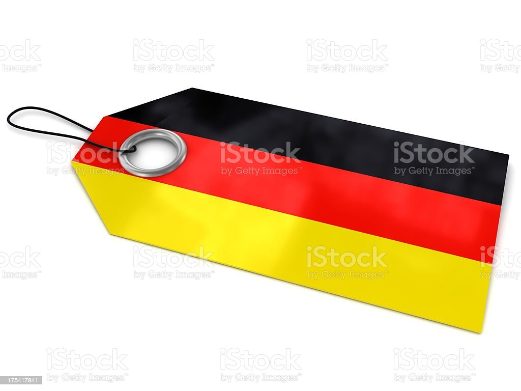 Made in Germany royalty-free stock photo
