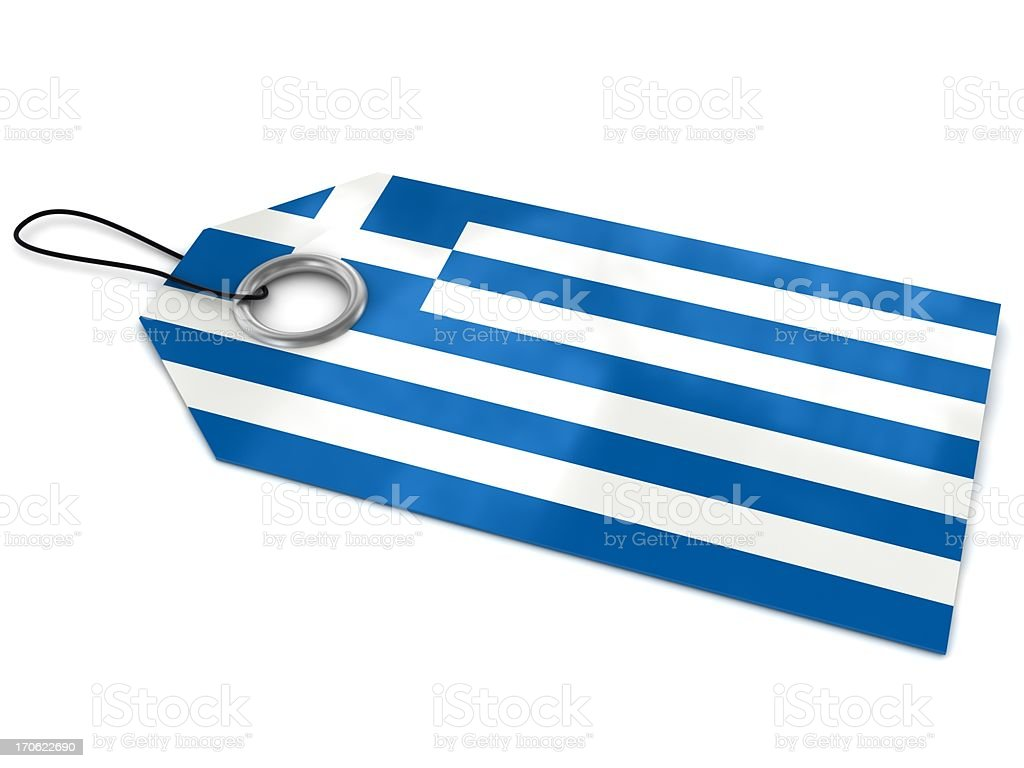 Made in Greece royalty-free stock photo
