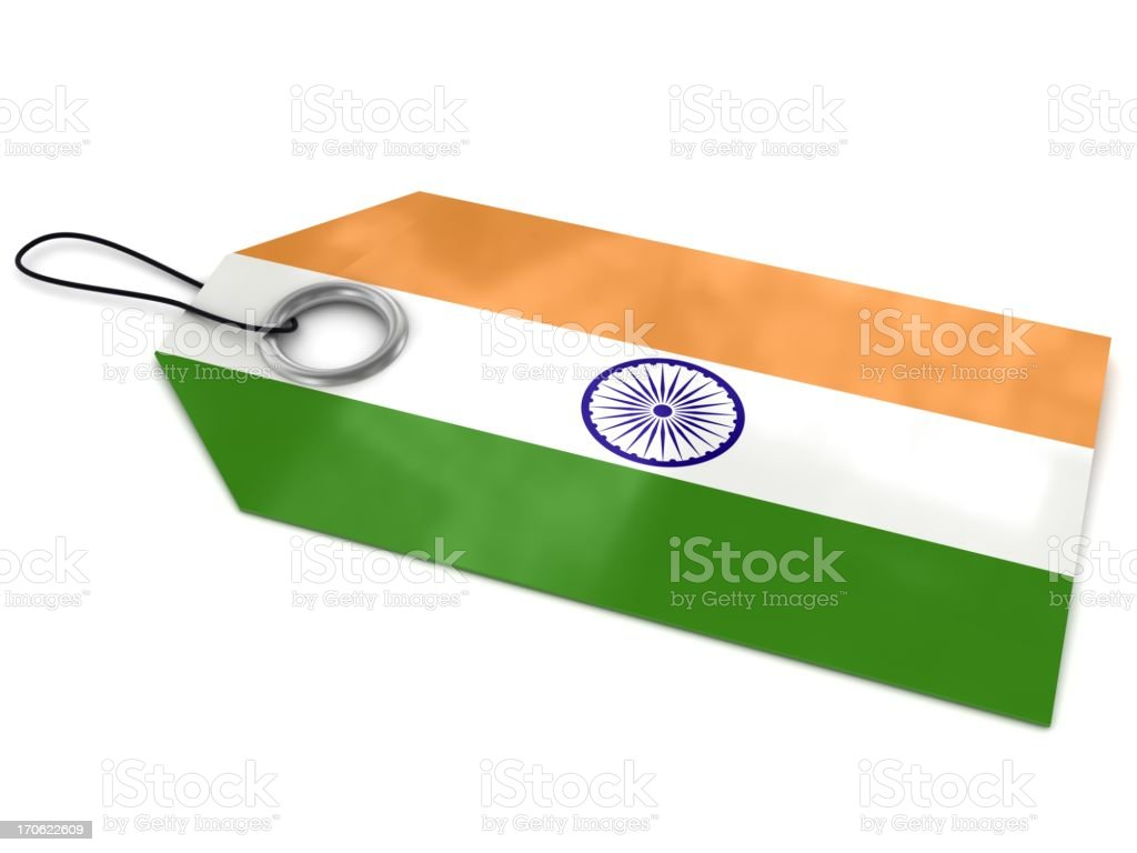 Made in India royalty-free stock photo