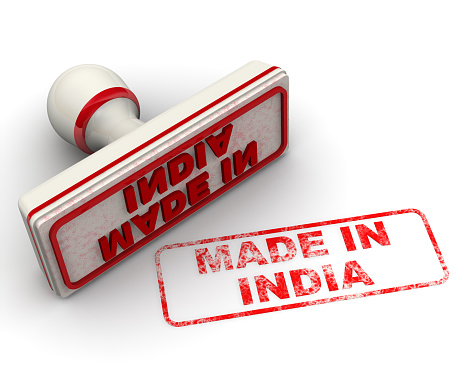 1181637623 istock photo Made in India. Seal and imprint 1153847308