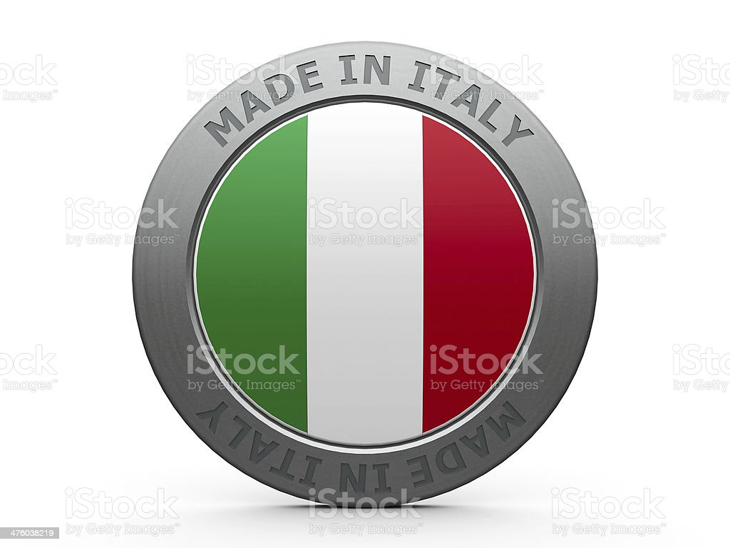 Made in Italy stock photo