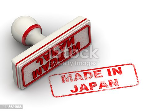 1181637623istockphoto Made in Japan. Seal and imprint 1148824868