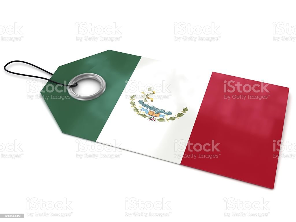 Made in Mexico royalty-free stock photo