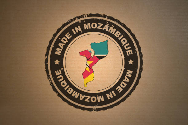 Made in Mozambique stock photo