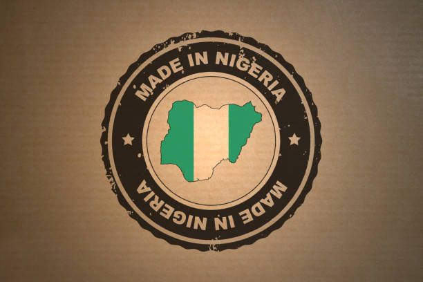 Made in Nigeria stock photo