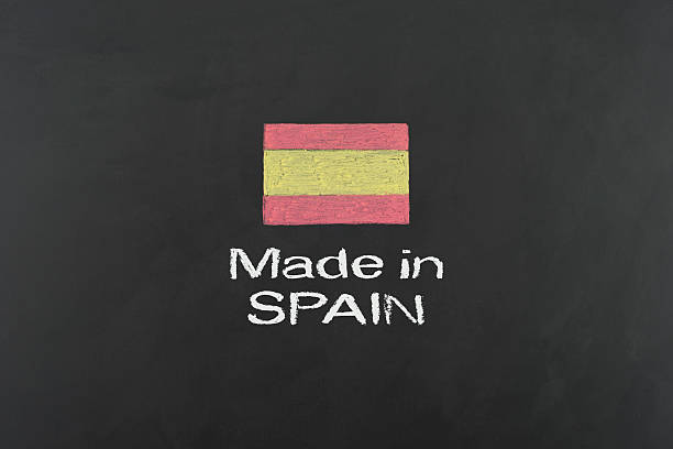 made in spain - vectors stock pictures, royalty-free photos & images