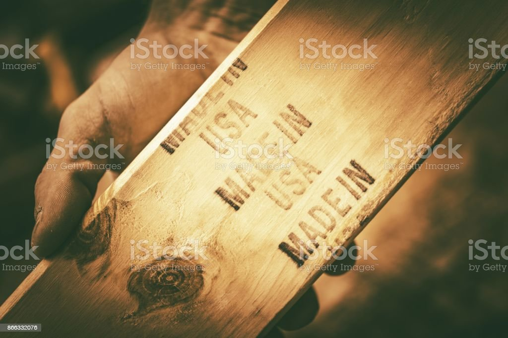 Made in the USA Theme stock photo