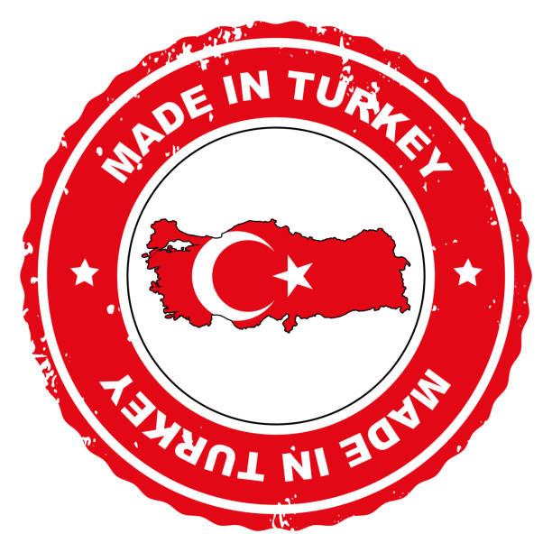 Made in Turkey stock photo