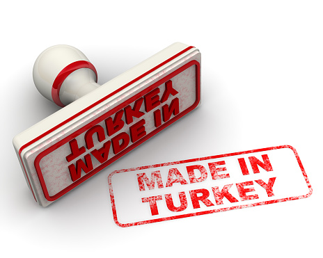 1181637623 istock photo Made in Turkey. Seal and imprint 1157002049