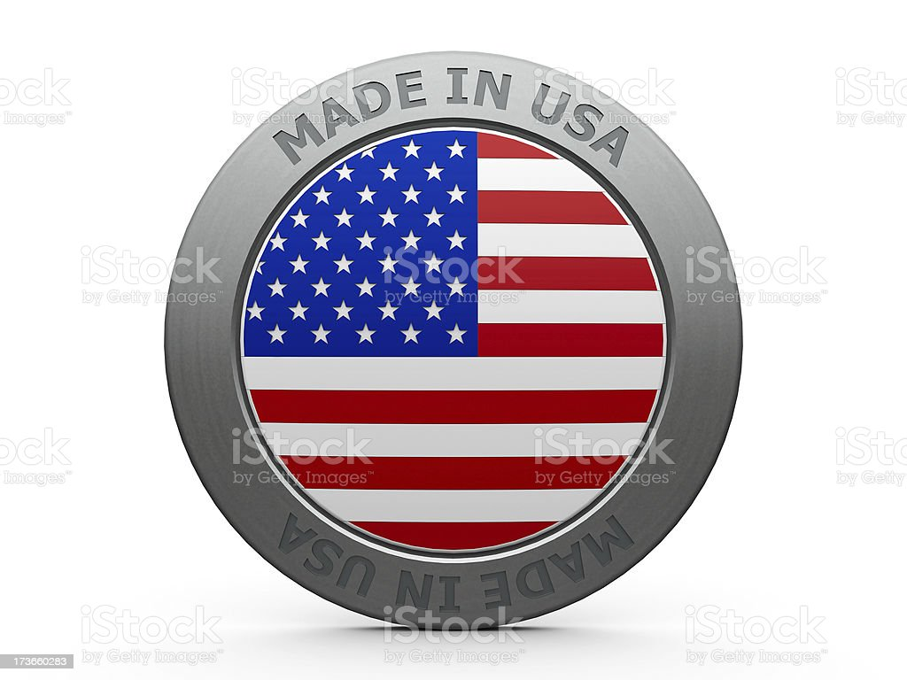 Made in USA royalty-free stock photo
