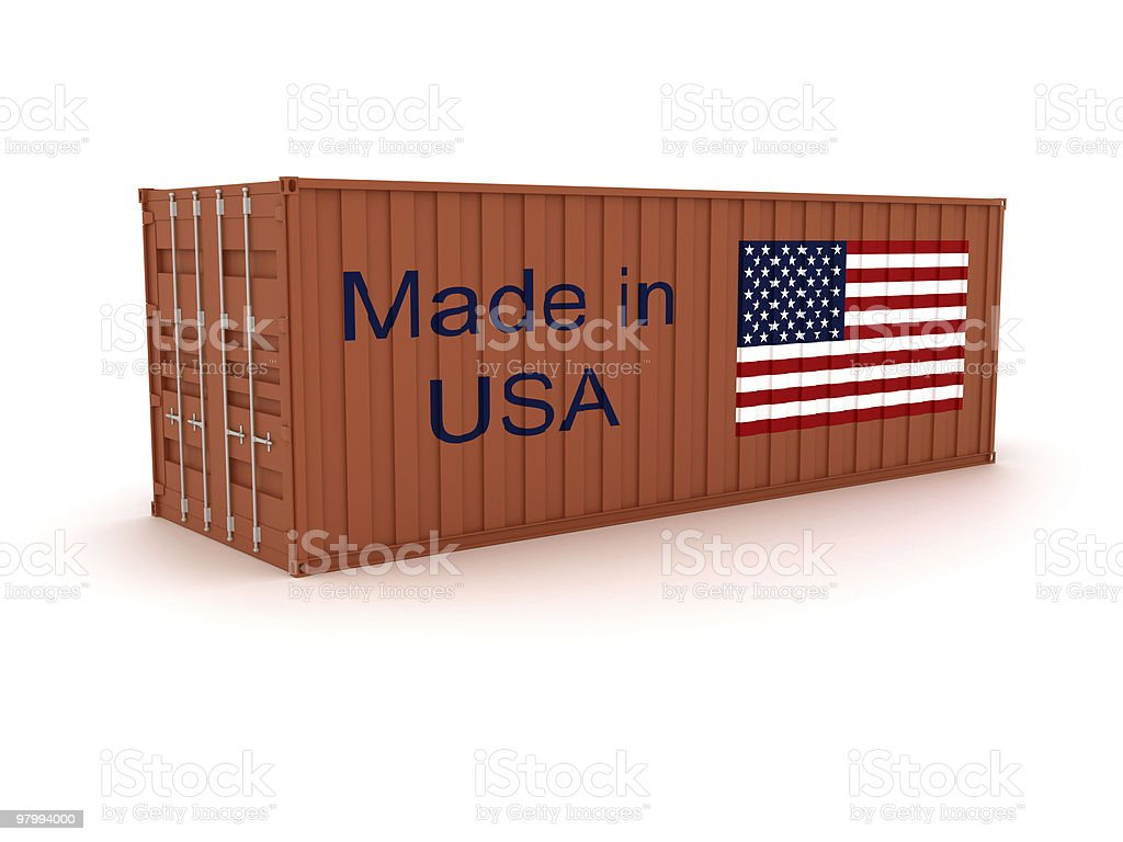Made in USA royalty free stockfoto