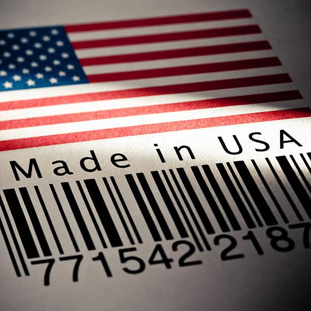 Made in USA-Produkt den Strichcode – Foto