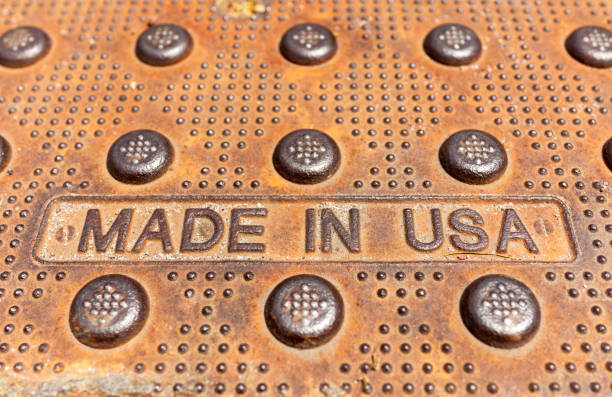 Made In USA toughness stock photo