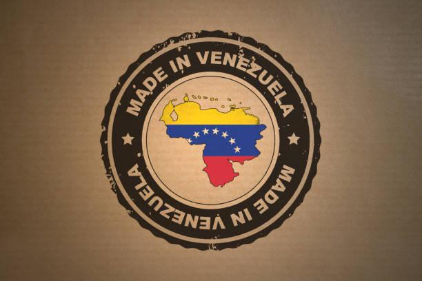 Made in Venezuela stock photo