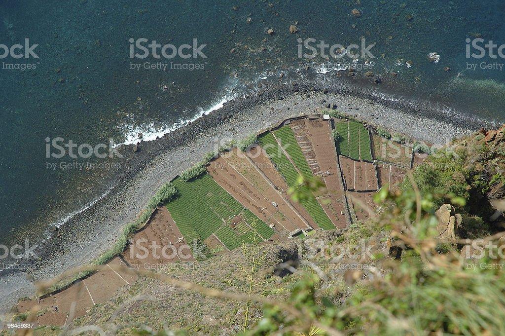 Madeira, Gabo Girao, top view royalty-free stock photo