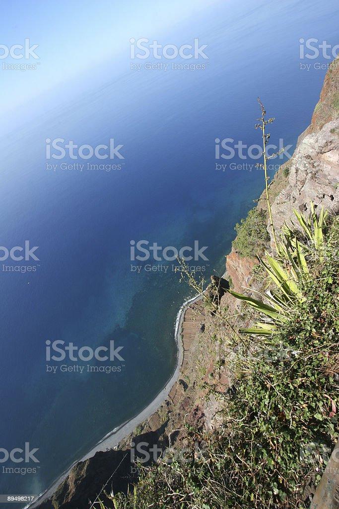 Madeira Island - Cabo Girao cliff #1 royalty free stockfoto