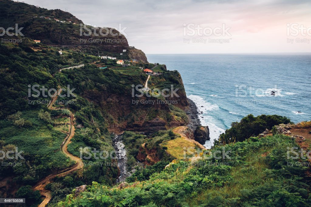 Madeira Island stock photo