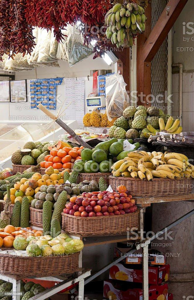 Madeira Market royalty-free stock photo