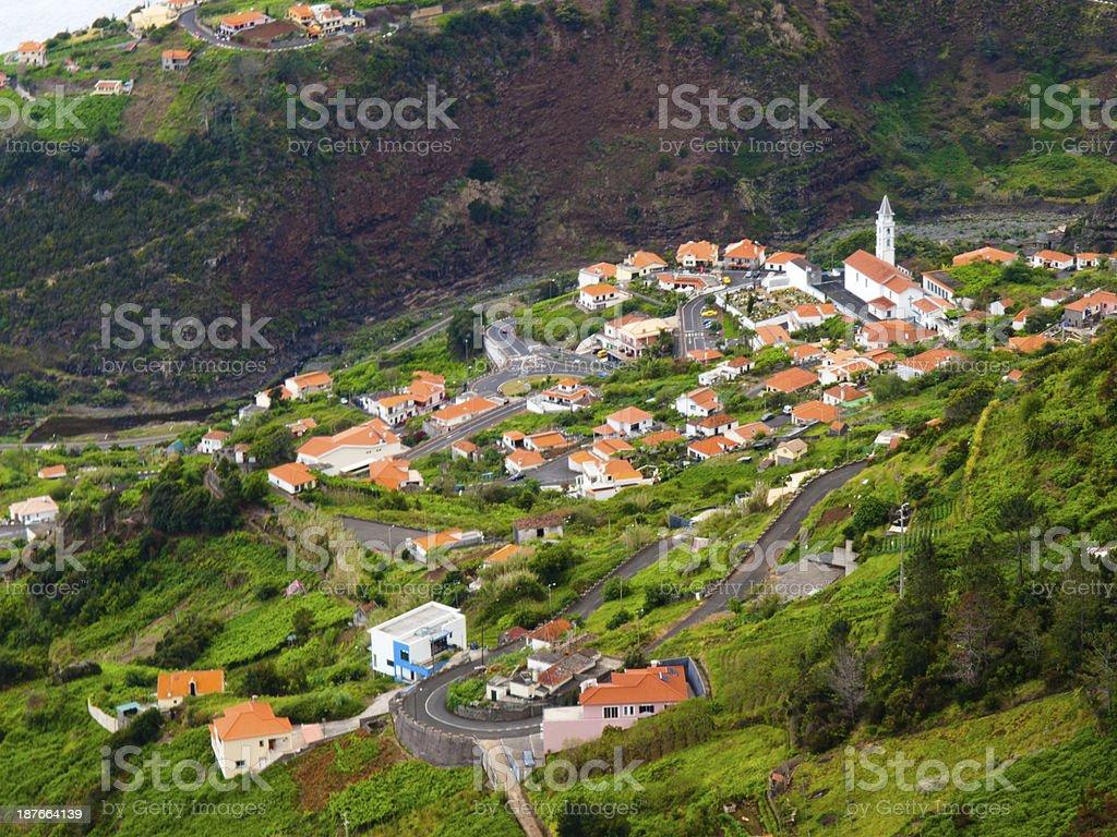 Madeira stock photo